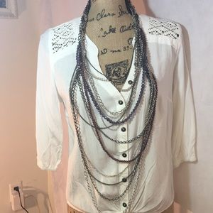 15 layer necklace